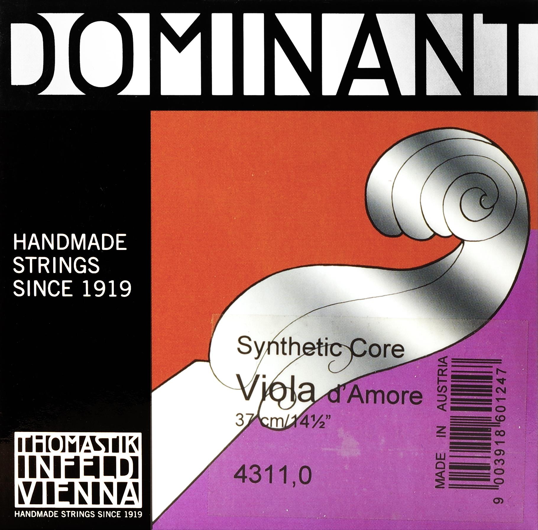 THOMASTIK DOMINANT VIOLA D' AMORE 4311 Sada 7 strun na violu d'amore.