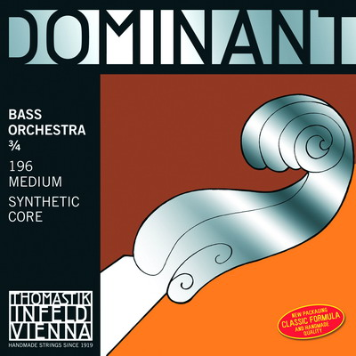 THOMASTIK DOMINANT solo 3/4 197 Kontrabasové struny - sada